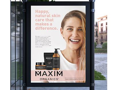 Maxim Organics Advertising