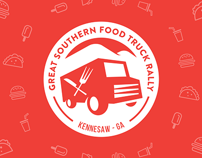 Great Southern Food Truck Rally Brand Collateral