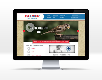 Palmer Feed Website