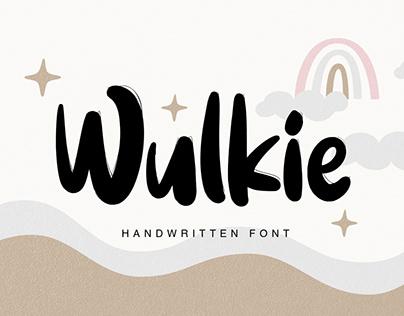 Wulkie Font