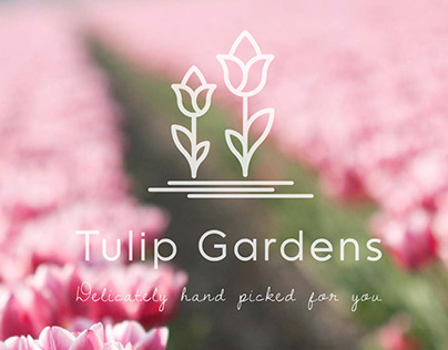 Tulip Gardens Brand Identity