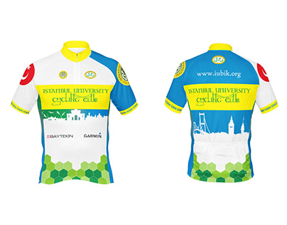 Istanbul University Cycling Club | Jersey Design