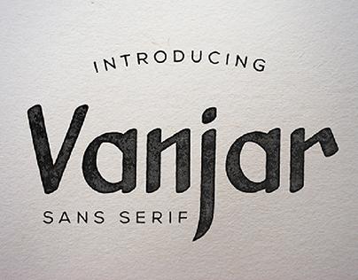Vanjar - Sans Serif (free)