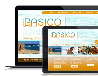 BASICO; UX Design & Branding