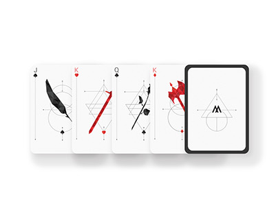 Low Poly Playing Cards