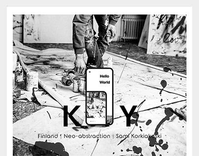 Lust For Line SAMI UI Design Visual Marketing Art
