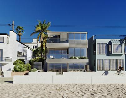 The Strand, Hermosa Beach