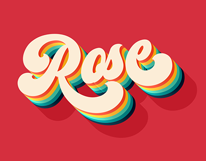 FREE | Rose Text Effect