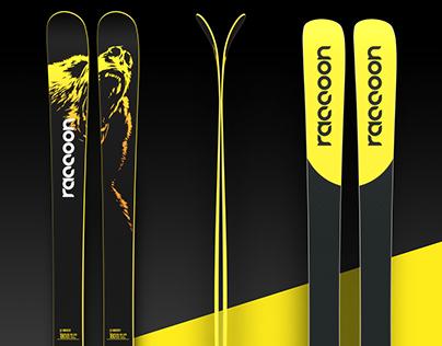 RACCOON / 2016-17 skis lineup