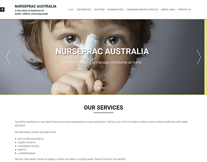 New Website for NursePrac Australis