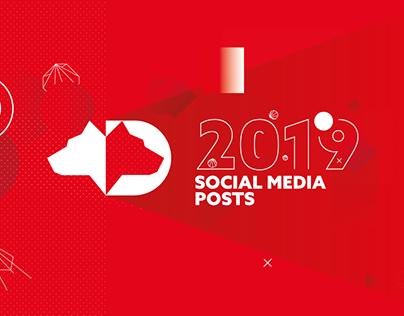 SOCIAL MEDIA POSTS 2019