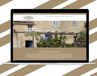 Agriturismo Il Pernambucco della Contessa Website