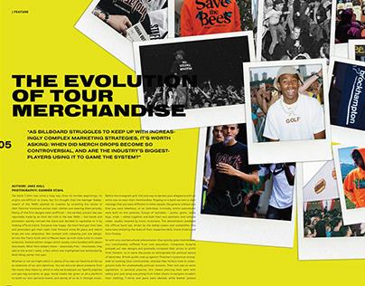 808 Magazine Editorial Spreads