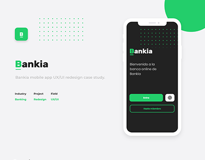 Bankia UX/UI Redesign