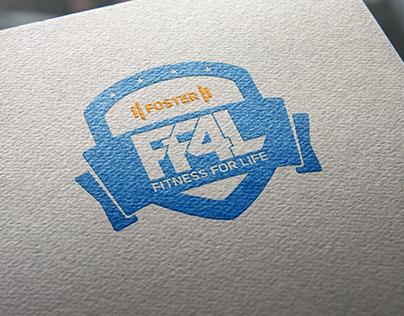 FF4L: Foster Fitness For Life Logo Design
