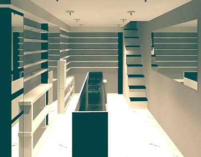 random interior i did while practicing revit
