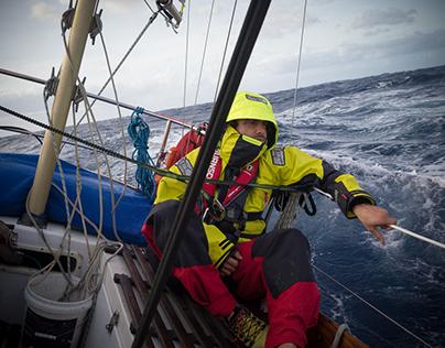 Kittiwake cruising the South Pacific
