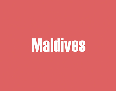 How different people pronounce Maldives