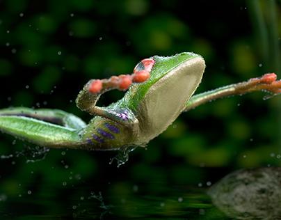 CGi Tree Frog