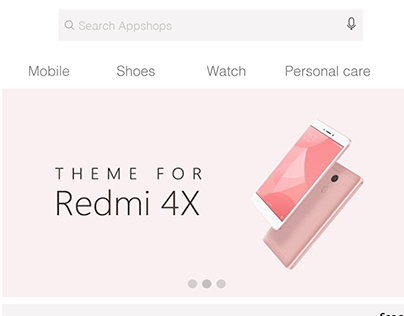 App Shop Application Design