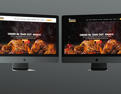 Flamos Web UI Design