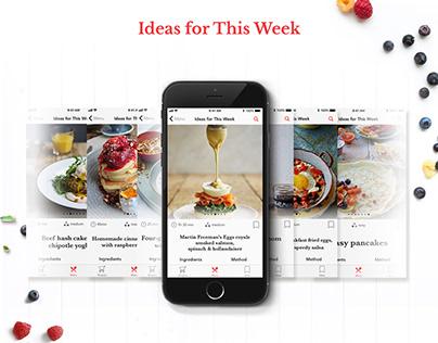 Morning Recipes App