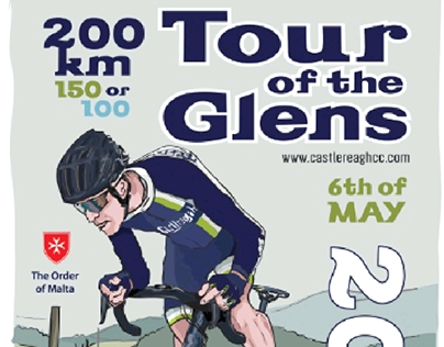 My poster design for cycle event