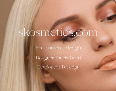 Skosmetics web design