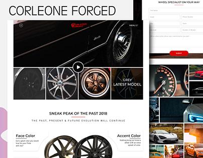 Corleone-Forged Website Ui Design