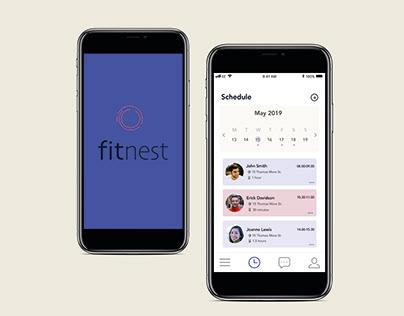 Fitnest // App concept