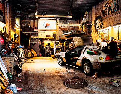 PopCorn Garage