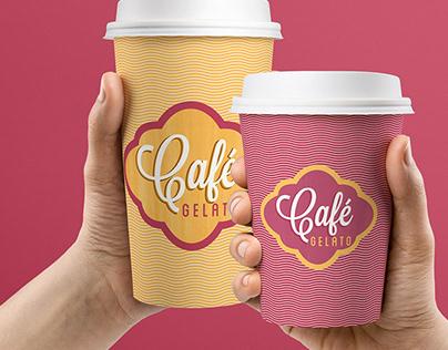 Cafe Gelato Rebrand