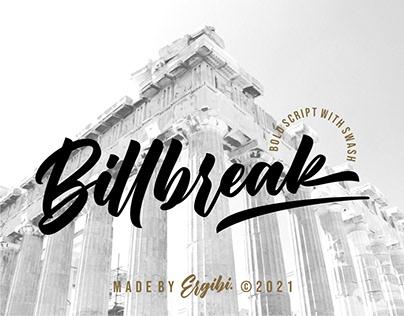 Billbreak - Bold Script