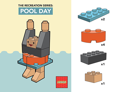 Pool Day Lego Instructions | Digital Design