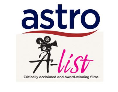"CREATIVE CAMPAIGN ILLUSTRATION - ASTRO ""A-LIST"" LAUNCH"