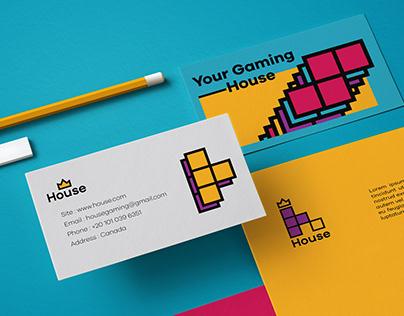 Branding | House | gaming company