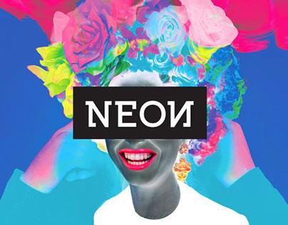 NEOИ PѦRTY visual