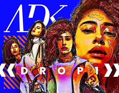 Identity, Motion & Publication Design : ADK Drop 1
