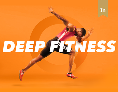 Deep Fitness app design