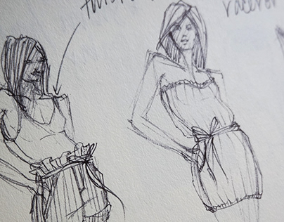 FASHION ILLUSTRATION: A Compilation of Womens Sketches