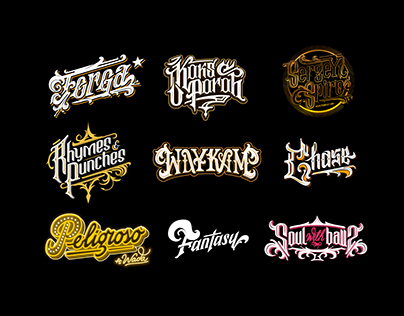 Lettering Collection Vol.2