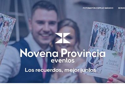 Diseño Web Novena Provincia Eventos