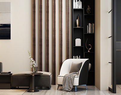 Modern Living Room, Dining Room