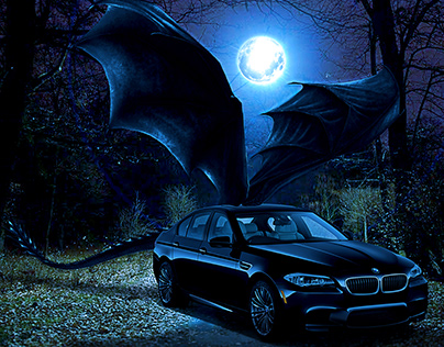 BMW - Monster in the blue