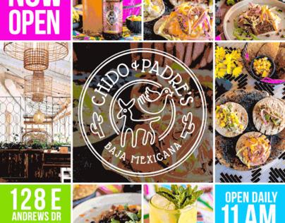 Chido & Padre's   Brand Identity