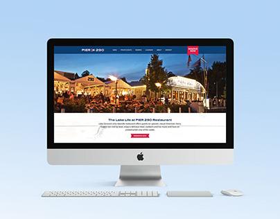 Pier 290 Website