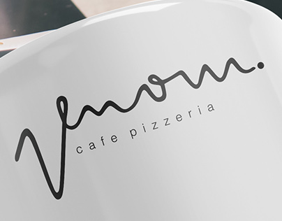 Venom - Cafe Pizzeria - Visual Identity