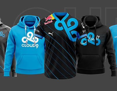 Esports Teams Jersey/Apparel Concept -