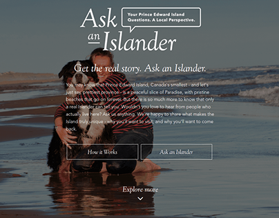 Tourism Prince Edward Island: Ask an Islander
