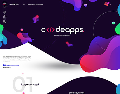 Visual identity for CodeApps.